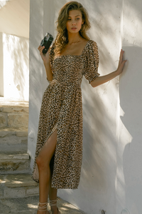 Chelsea Shir Dress in Leopard
