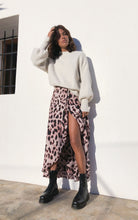 Load image into Gallery viewer, Jagger Maxi Dress in Blush Leopard