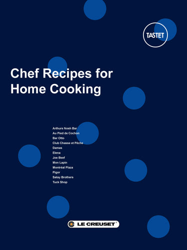 Chef Recipes for Home Cooking x Le Creuset - eBook