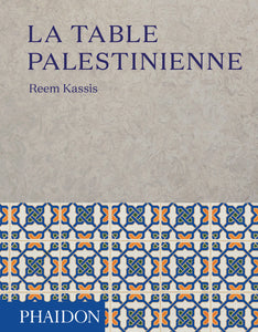 Book on the Palestinian table
