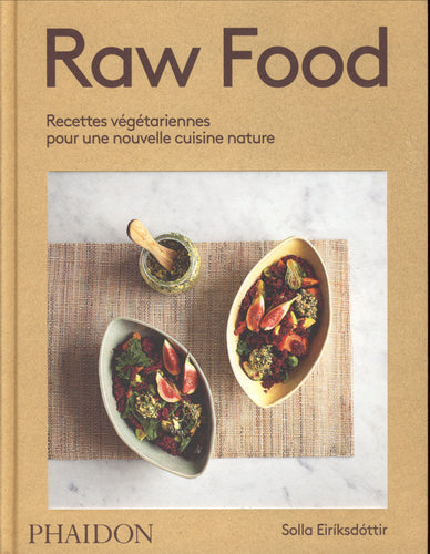 Raw food book:vegetarian recipes for a new