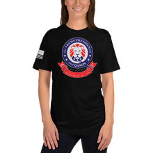 Load image into Gallery viewer, The Trump Presidency, A Military Operation Banner | Sleeve Flag Unisex Jersey Tee