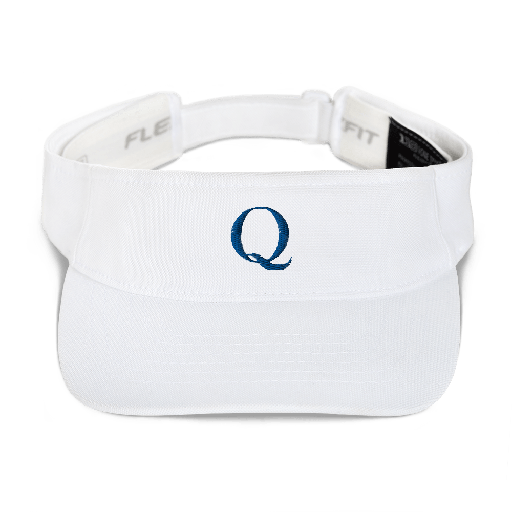 Simply Q Visor | Blue on White