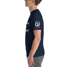 Load image into Gallery viewer, BIG & TALL: Quebec Alpha November Oscar November WWG1WGA | Sleeve Flag Logo Tee