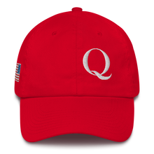 Load image into Gallery viewer, Q, Flag WWG1WGA Embroidered Cotton Cap