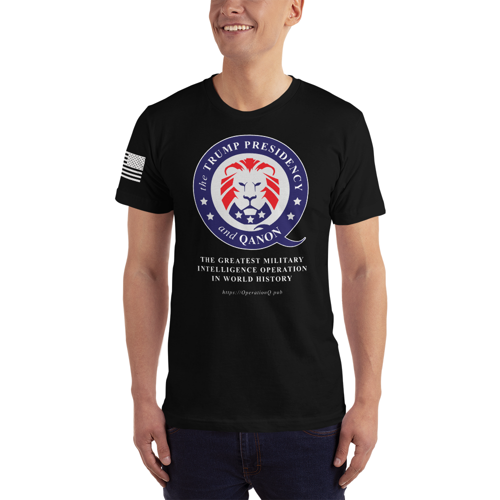 The Trump Presidency, A Military Operation | Sleeve Flag Unisex Jersey Tee