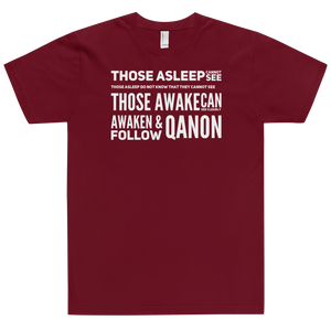 Those Asleep Cannot See, Those Awake Can See Clearly | Unisex Jersey Tee