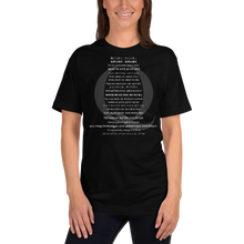 Load image into Gallery viewer, WWG1WGA Top 20 World Languages | Back Tag Logo | Unisex Jersey Tee