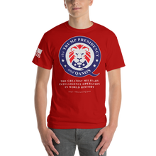 Load image into Gallery viewer, BIG & TALL: The Trump Presidency, A Military Operation | Sleeve Flag Tee