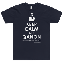 Load image into Gallery viewer, Keep Calm and QAnon | Unisex Jersey Tee
