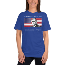 Load image into Gallery viewer, American Patriot - Lieutenant General Michael Flynn | Unisex Jersey Tee