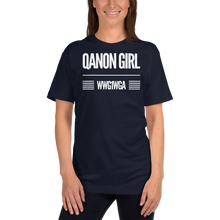 Load image into Gallery viewer, QAnon Girl WWG1WGA | Unisex Jersey Tee | Design #1