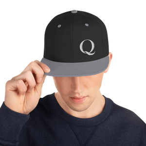 "Simply ""Q"" QAnon Embroidered Snapback Hat"