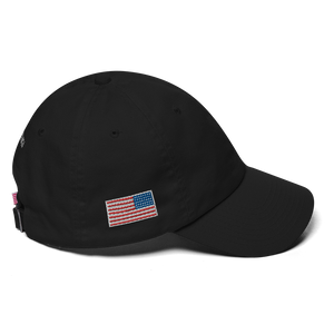 Q, Flag WWG1WGA Embroidered Cotton Cap
