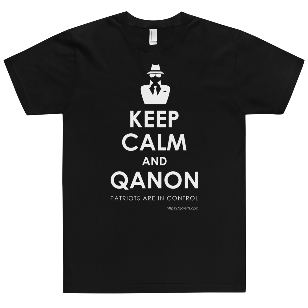 Keep Calm and QAnon | Unisex Jersey Tee