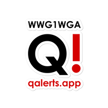 Load image into Gallery viewer, QAlerts.app | Bubble-Free Sticker