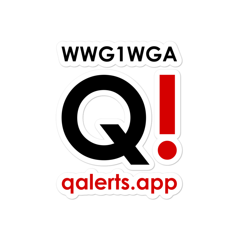 QAlerts.app | Bubble-Free Sticker