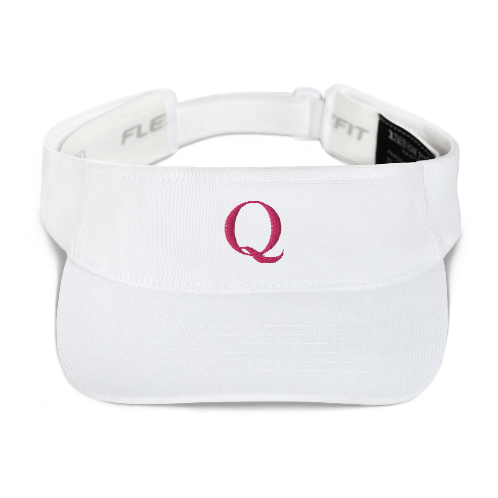 Simply Q Visor | Flamingo on White