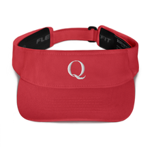 Load image into Gallery viewer, Simply Q Visor | White on Blue, Navy, Red or Black