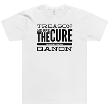 Load image into Gallery viewer, Treason, We Are The Cure Text | Unisex Jersey Tee
