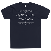 Load image into Gallery viewer, QAnon Girl WWG1WGA | Unisex Jersey Tee | Design #3