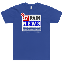 Load image into Gallery viewer, Q17 Pain News | Unisex Jersey Tee