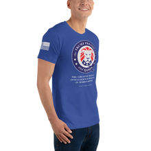 Load image into Gallery viewer, The Trump Presidency, A Military Operation | Sleeve Flag Unisex Jersey Tee