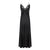 Queen Black Silk Nightdress - Ipek Kiramer - Evellier