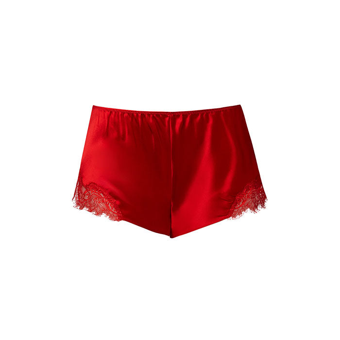 Scarlett French Knicker Scarlett Red - Sainted Sisters - Evellier