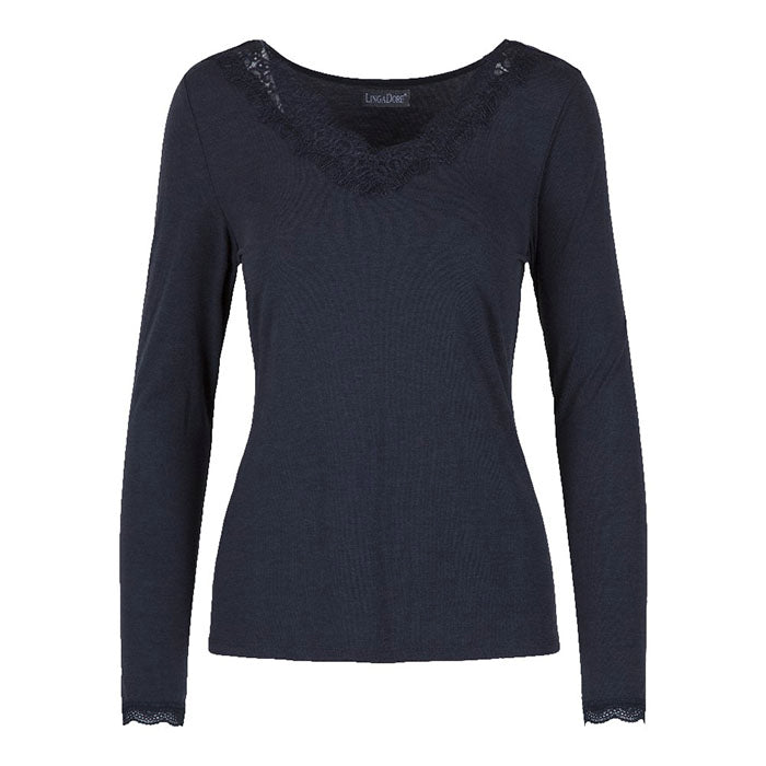 Moonlight Top L/S - Lingadore - Evellier