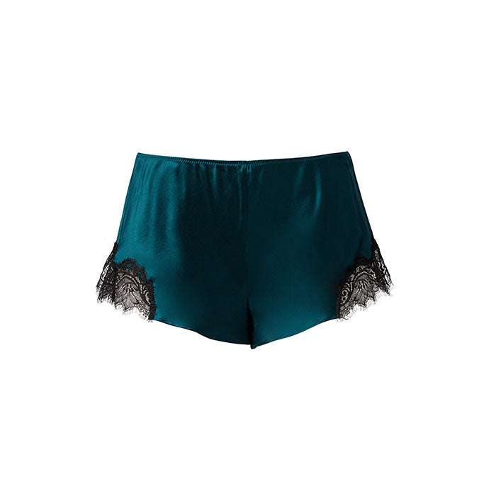 Scarlett French Knicker Petrol/Black - Sainted Sisters - Evellier