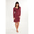 Fizz Berry Long Sleeve Dress - Lingadore - Evellier