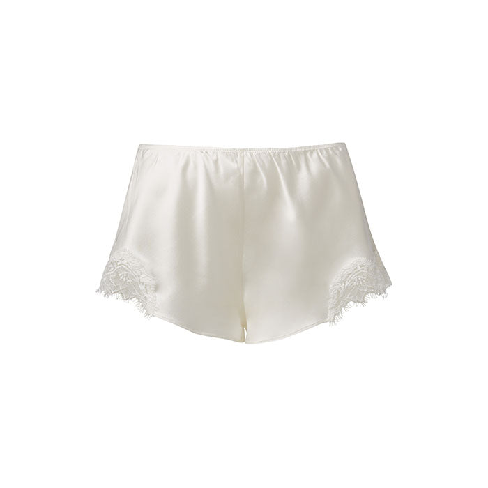 Scarlett French Knicker White - Sainted Sisters - Evellier