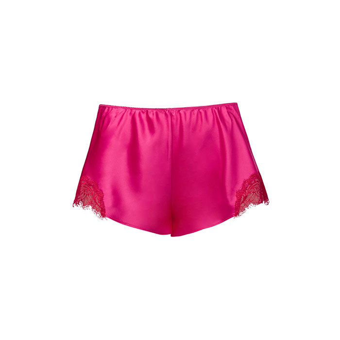 Scarlett French Knicker Hot Pink/Scarlett Red - Sainted Sisters - Evellier
