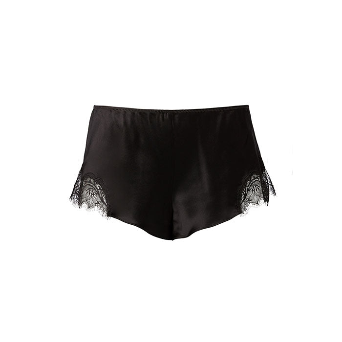 Scarlett French Knicker Black - Sainted Sisters - Evellier