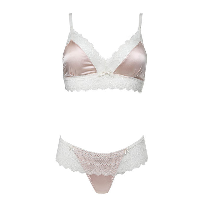 Amy Triangle Bra - Les Jupons De Tess - Evellier