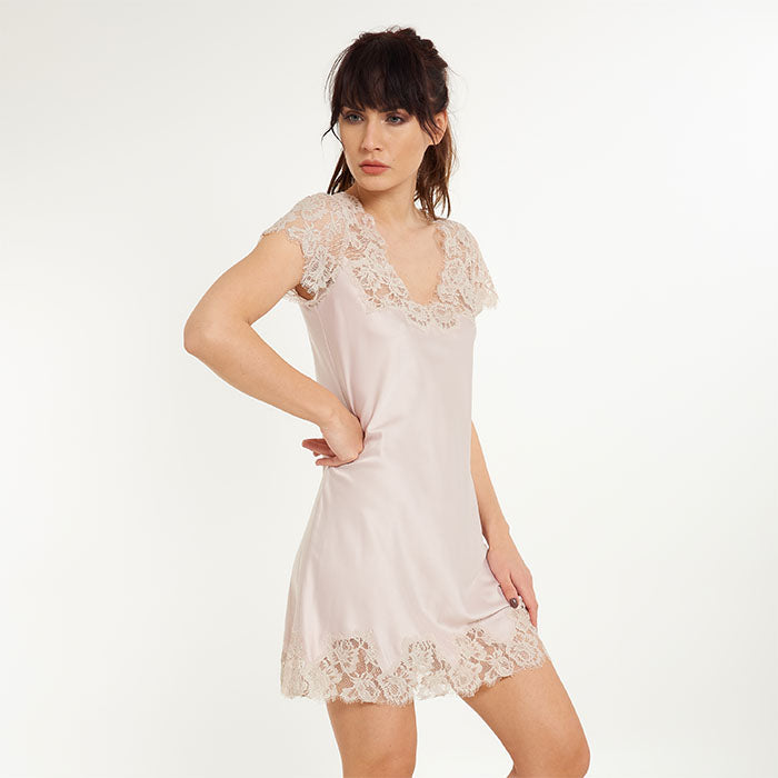Amora Dress s/s - Lingadore - Evellier