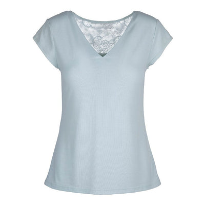 HORIZON T-shirt with Lace - Lingadore - Evellier