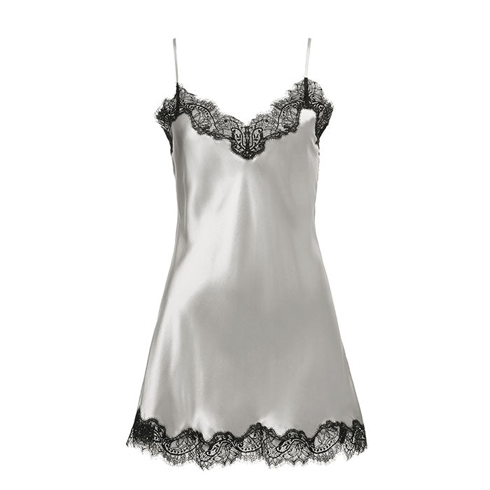 Scarlett Chemise Silver/Black - Sainted Sisters - Evellier