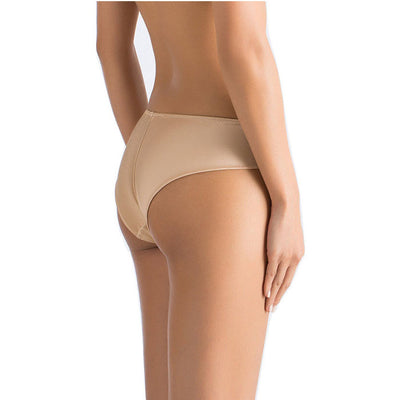 Everyday Silk Briefs with Low-Waist Seamless back - Les Jupons De Tess - Evellier