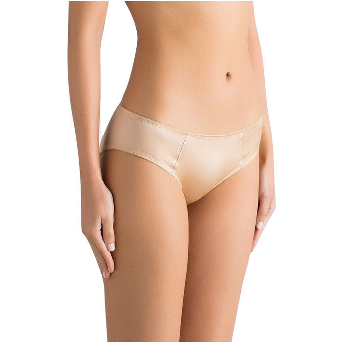 Sandra Silk Mid-Rised Full Coverage Brief - Sandra Silk - Evellier