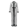 Olivia Long Wrap Gown Black - Sainted Sisters - Evellier