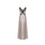 Queen Silver Silk Nightdress - Ipek Kiramer - Evellier