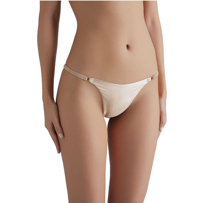 Sandra Signature Silk G-string Gold - Sandra Silk - Evellier