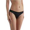 Sandra Signature Silk Thong Black - Sandra Silk - Evellier