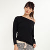 Moon Long Sleeve Crossover Top - Lingadore - Evellier