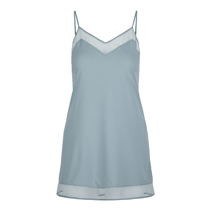 Lucia Chemise Soft Teal Green - Lingadore - Evellier