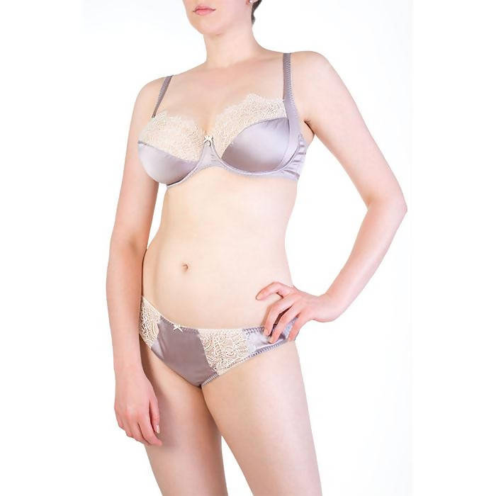 Eleanor Lilac Classic Briefs - Harlow & Fox - Evellier