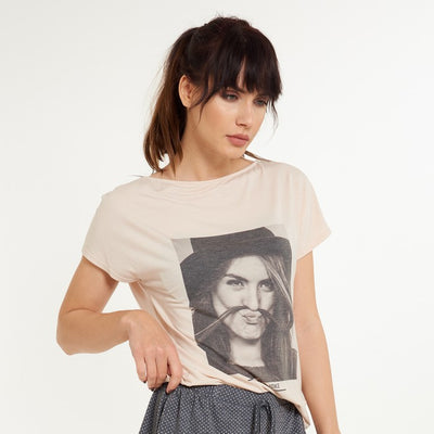 SUN T-Shirt With Photoprint - Lingadore - Evellier