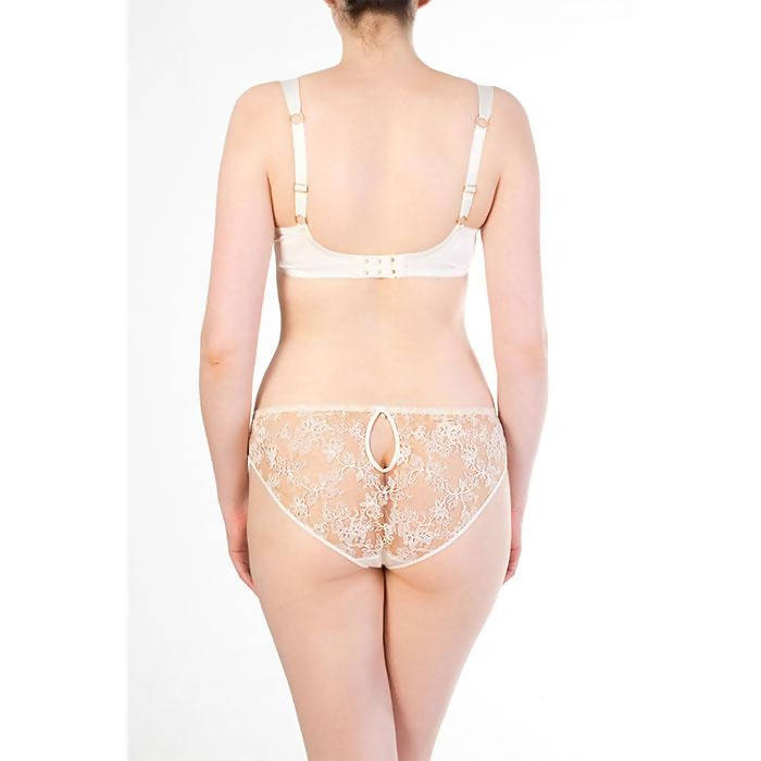 Serena Ivory Classic Brief - Harlow & Fox - Evellier